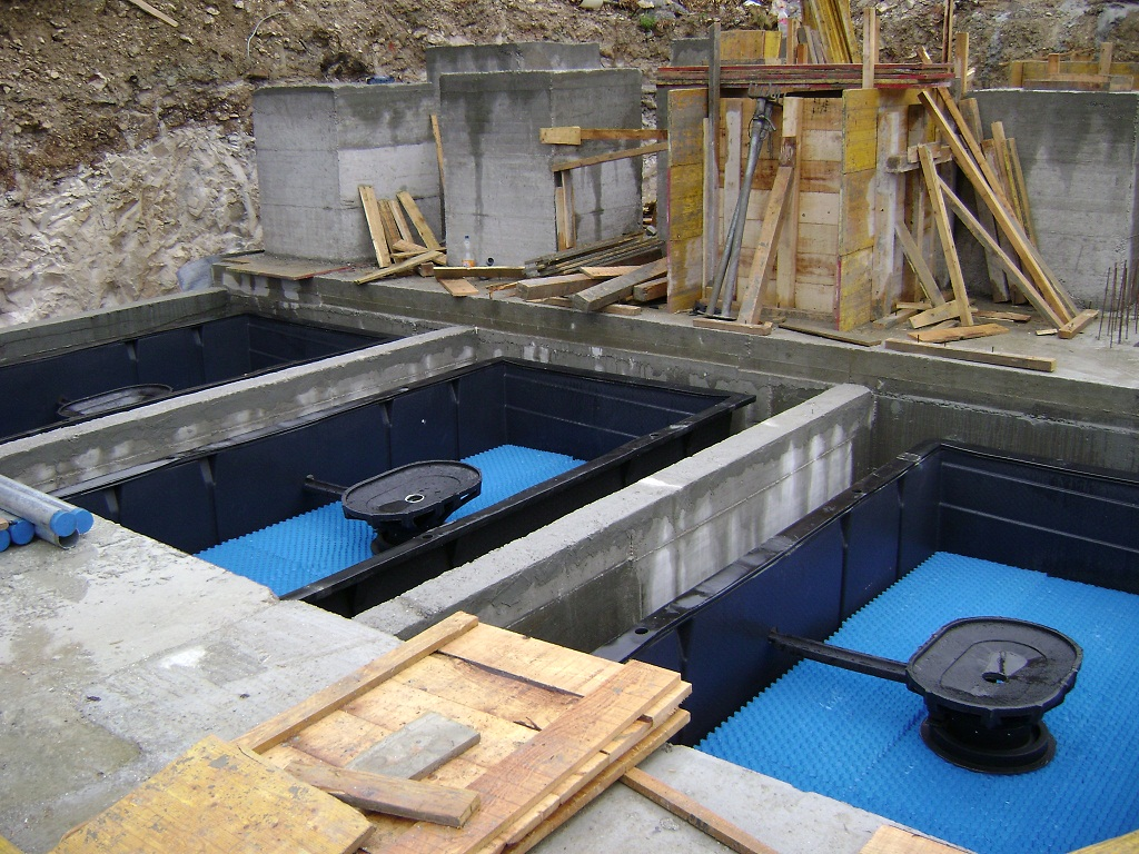 Как построить очистное сооружение для загородного дома своими руками