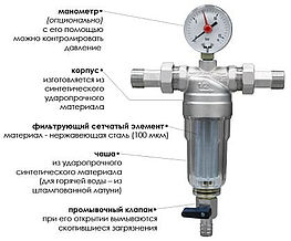 Фильтры грубой и тонкой очистки воды: виды и рекомендации, какие лучше выбрать