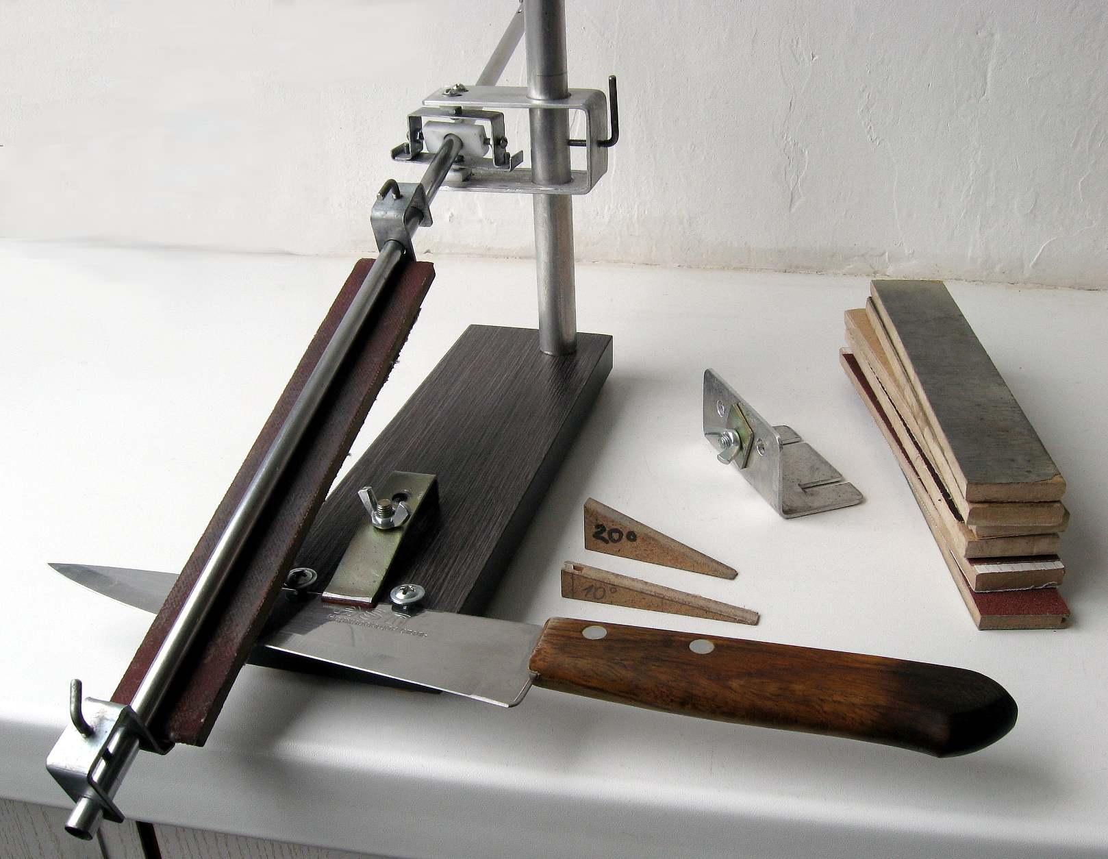 Точилки для ножей своими руками