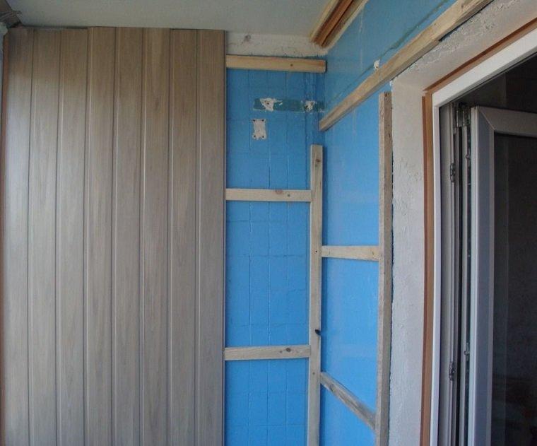 Отделка балкона вагонкой своими руками