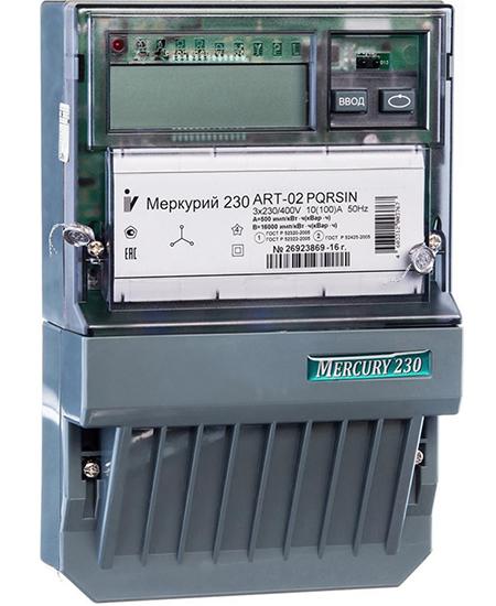 Технические характеристики и схема подключения трехфазного счетчика Меркурий