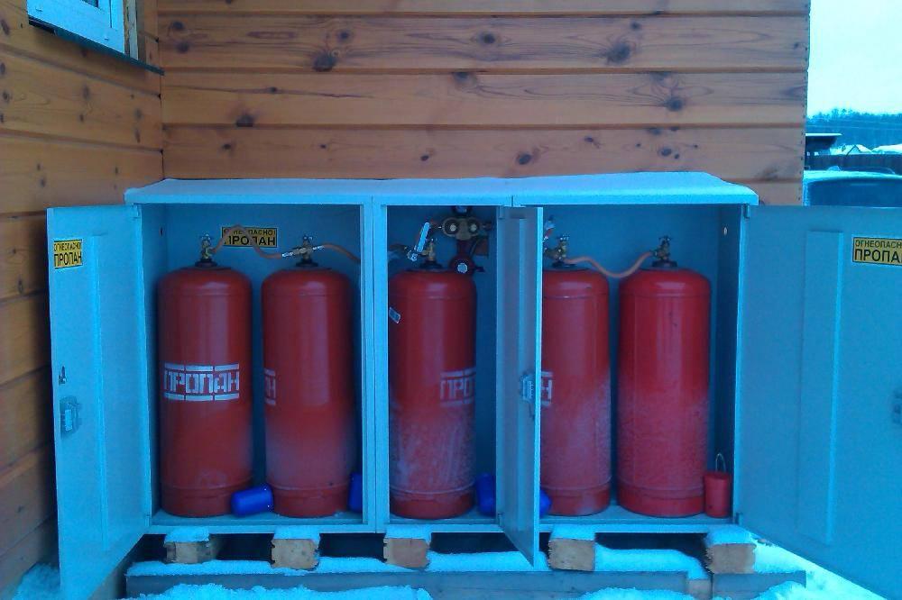 Особенности отопления с помощью газовых печей от баллонов
