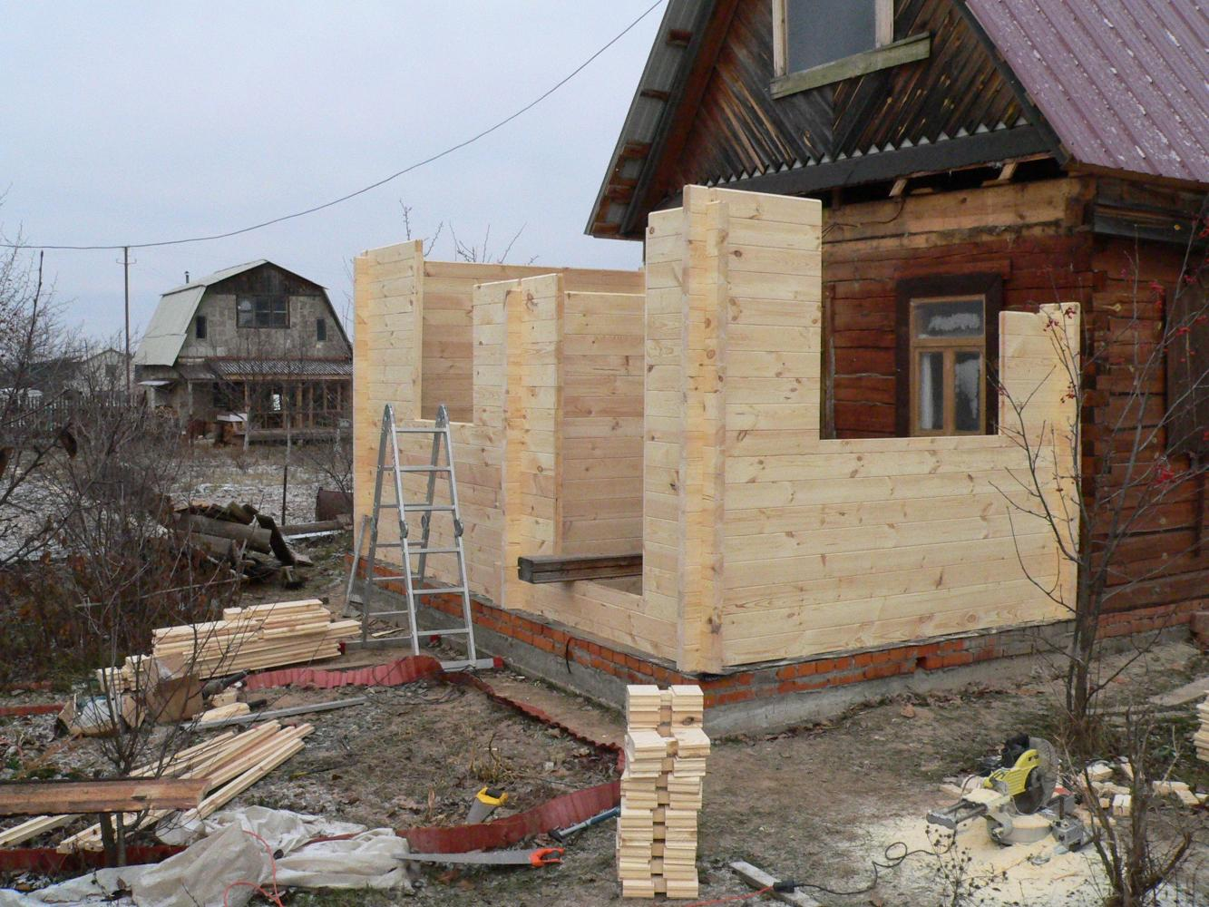 Виды пристроек к деревянному дому, особенности строительства