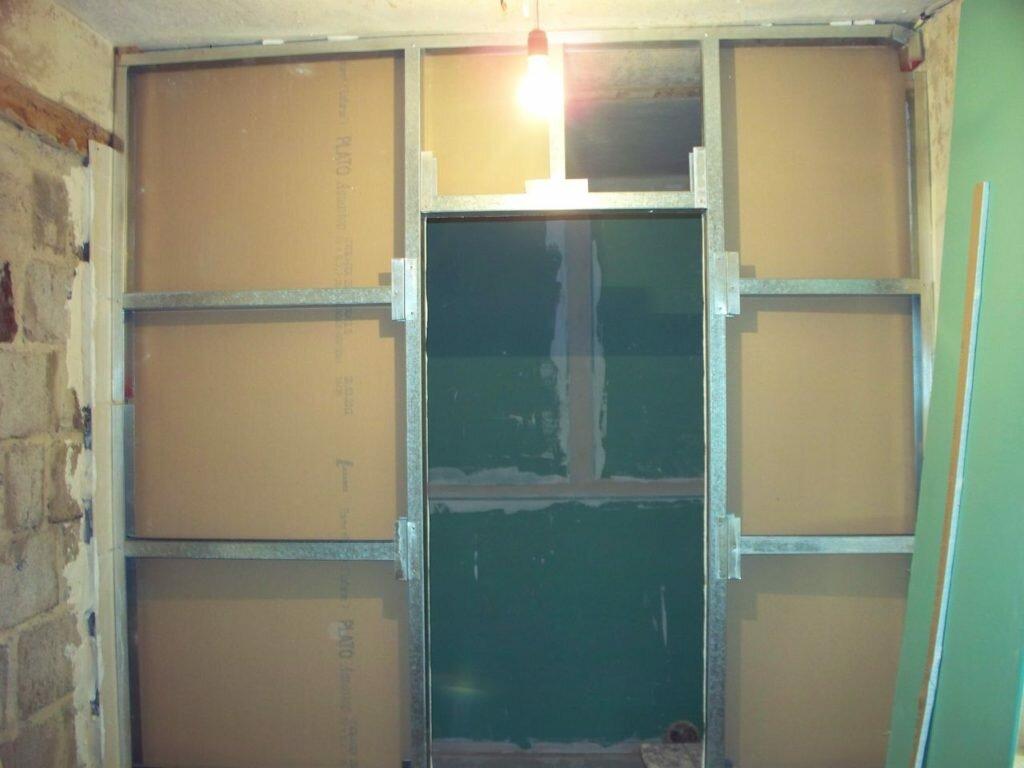 Стены и перегородки из гипсокартона: делаем сами