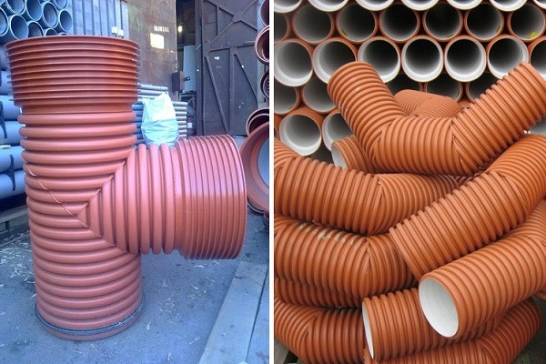 Обзор гофрированных труб для канализации
