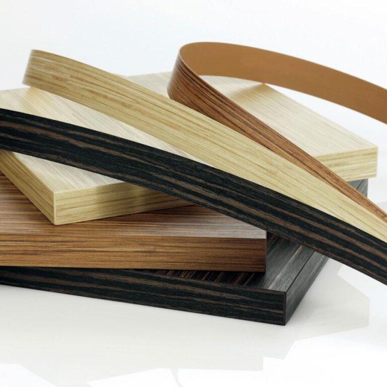 Виды торцевых кромок для мебели