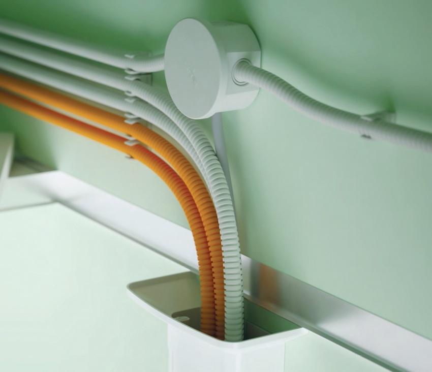 Гофрированная труба для прокладки проводов — конструкция и применение