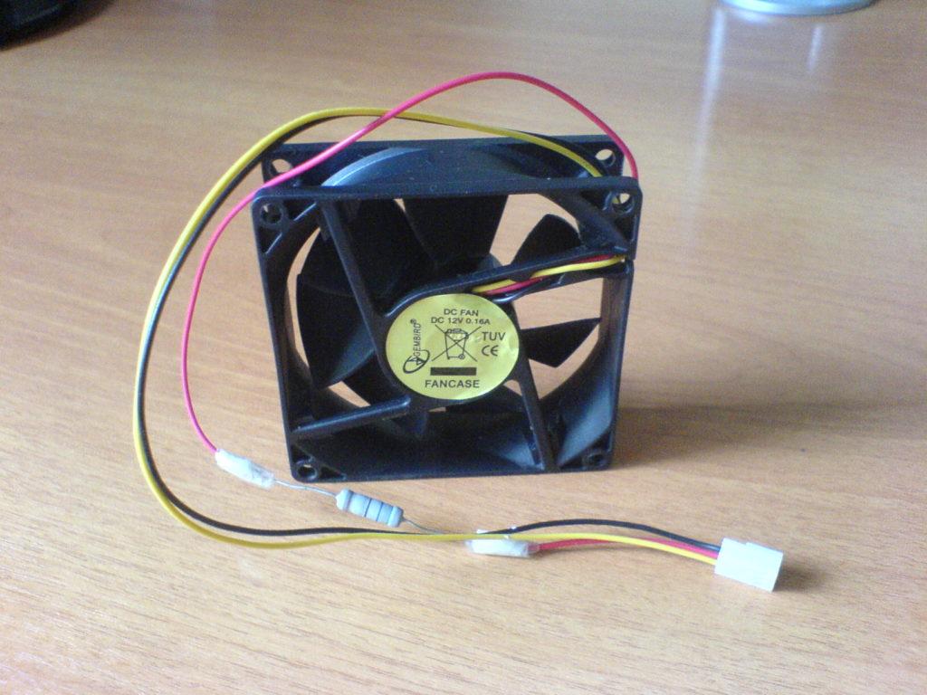 Способы уменьшения оборотов на вентиляторе