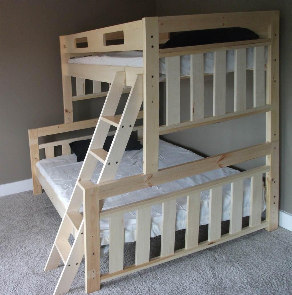 Простая двухъярусная кровать: пошаговая инструкция с фото