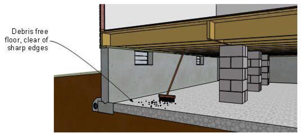 Вентиляция фундамента частного деревянного дома: схемы отверстий и фото опалубки