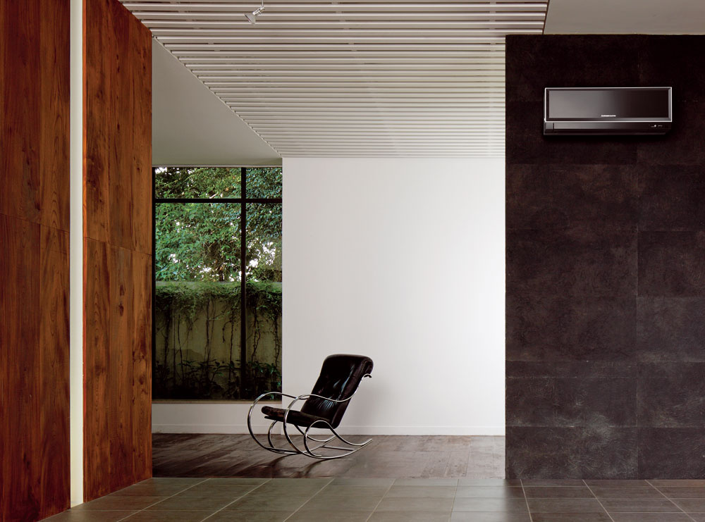 Использование кондиционеров в интерьере и дизайне, фото