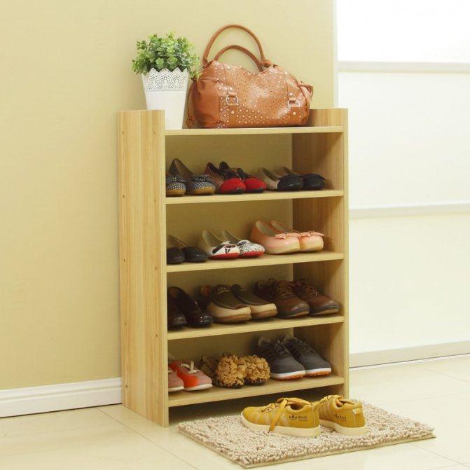 Шкаф, полка, комод для обуви… выбираем обувницу