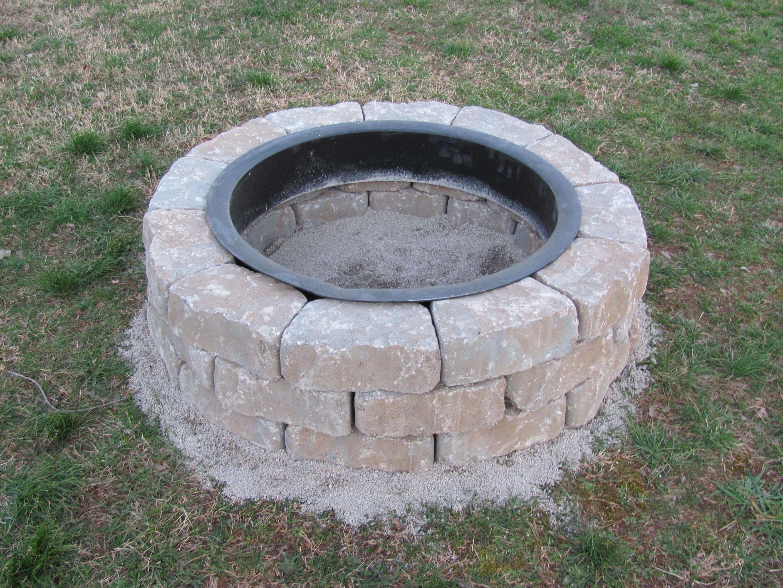 Как сделать костровище на даче, во дворе