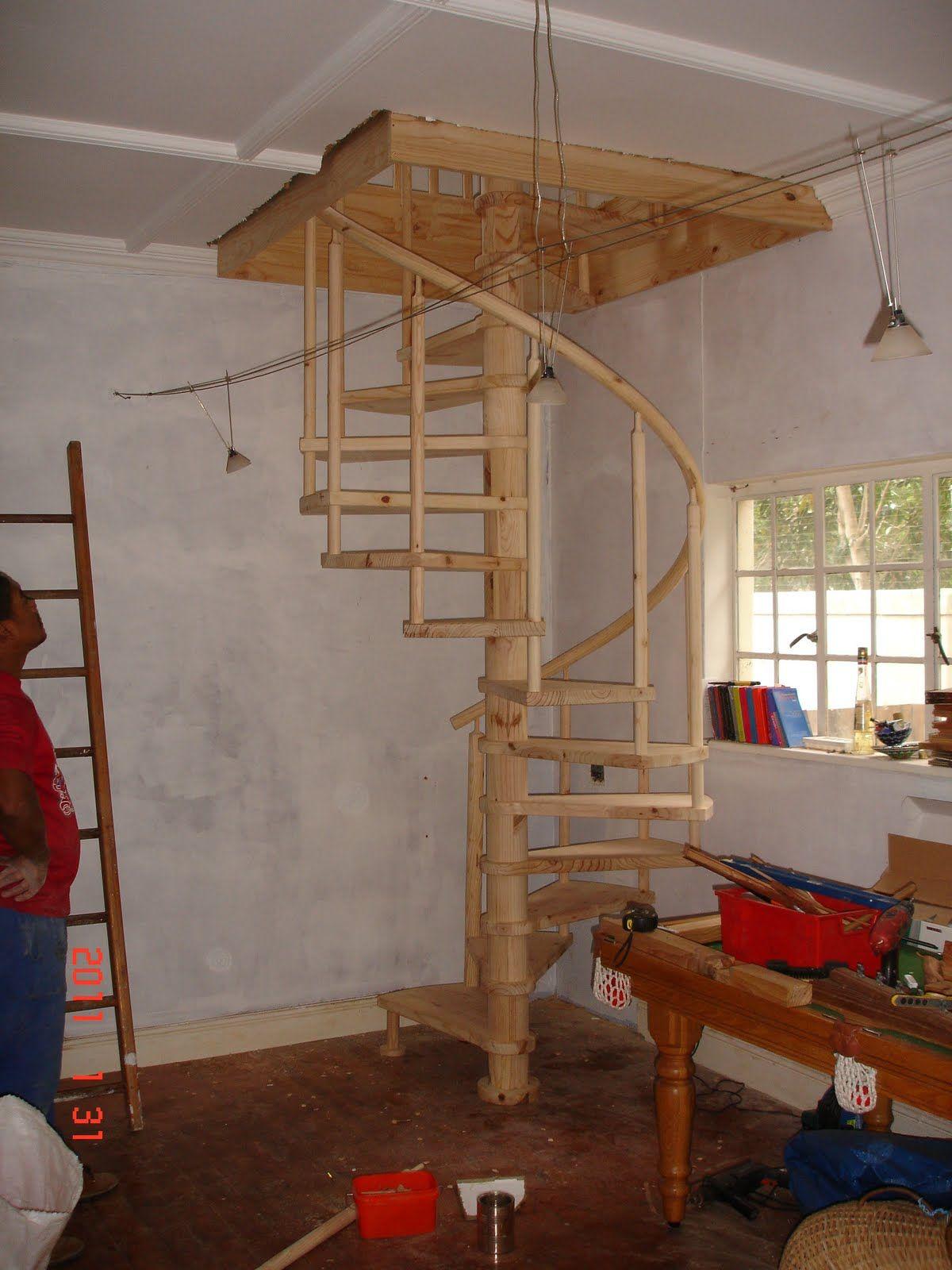 Изготовление винтовой лестницы собственноручно