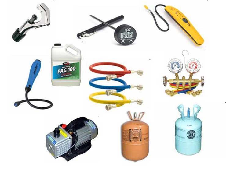 Инструмент для монтажа кондиционеров и расходные материалы
