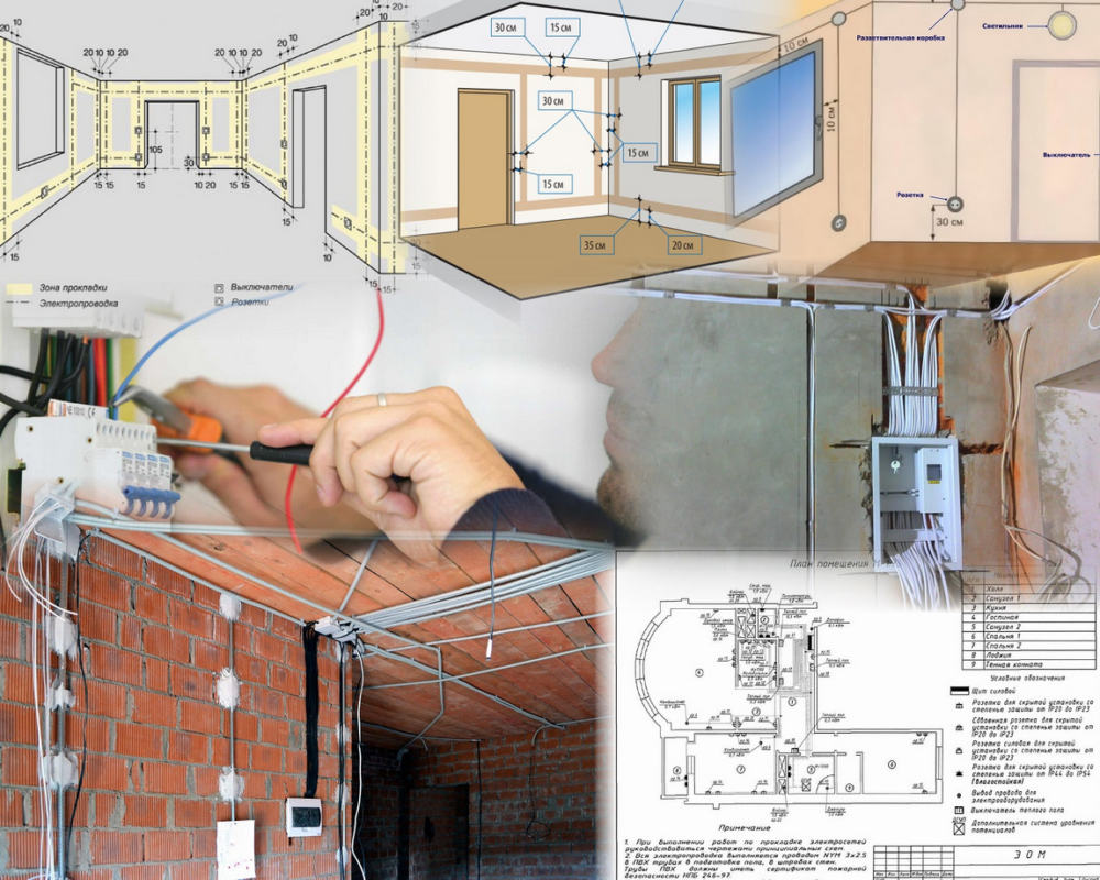 Монтаж электропроводки в частном доме своими руками — пошаговое описание