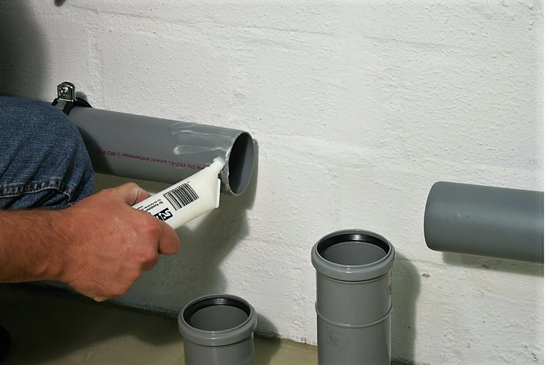 Основные способы герметизации канализационных труб