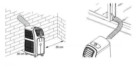 Как установить мобильный напольный кондиционер в квартире своими руками