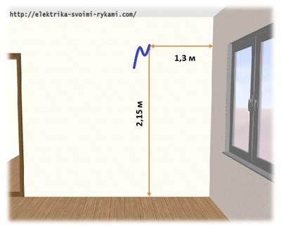 Нужна ли отдельная розетка для кондиционера и на какой высоте ей расположить