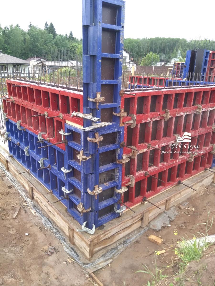 Элементы опалубки в монолитном строительстве