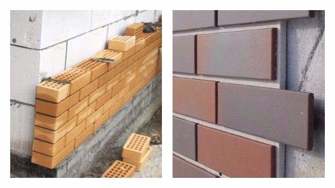 Отделка фасада облицовочным кирпичом: выбираем облицовочный кирпич для фасада, варианты отделки и процесс работ