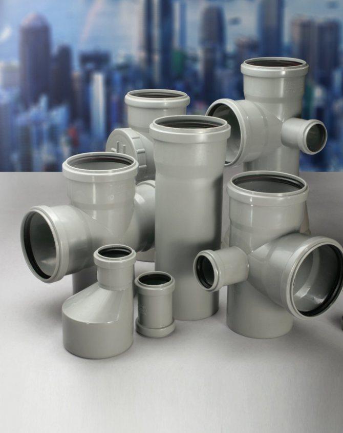 Особенности выбора труб и фитингов для канализации