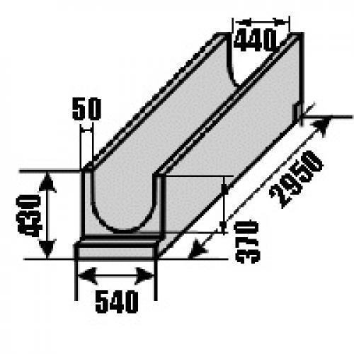 Как установить бетонный лоток для отвода воды