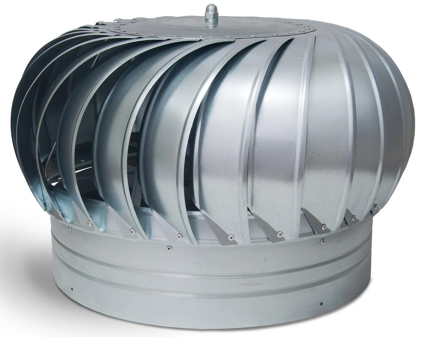 Использование вентиляционных турбодефлекторов