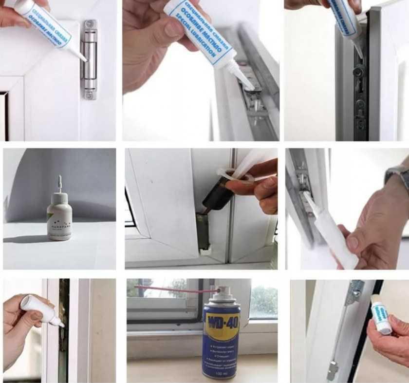 Как отремонтировать пластиковое окно в домашних условиях