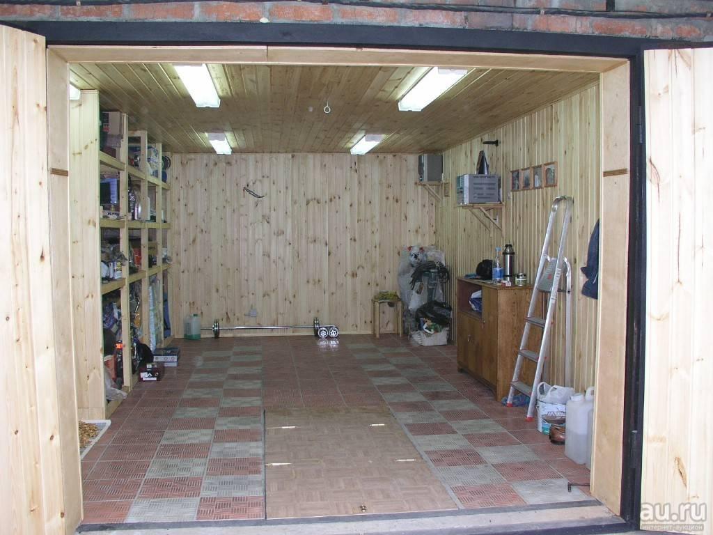 Отделка гаража внутри: материалы и видео инструкции для отделки своими руками