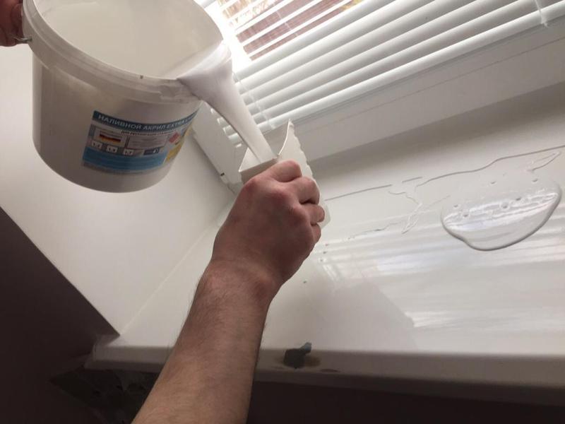 Как обновить пластиковый подоконник без замены