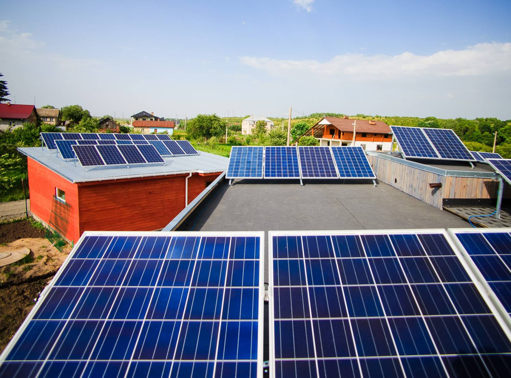 Альтернативная энергия для частного дома