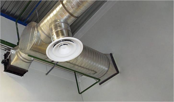 Вентиляционный диффузор — назначение, применение, установка