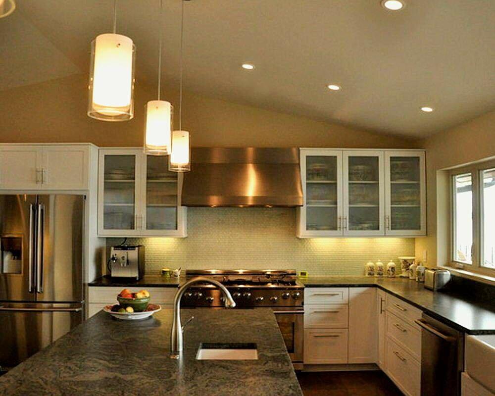 Как сделать свет на кухне с натяжным потолком