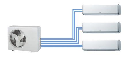 Монтаж и схема подключения мультисплит-системы кондиционирования