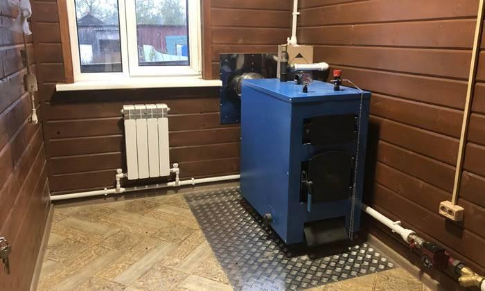 Виды отопления деревянного дома: обзор систем и правила организации теплоснабжения