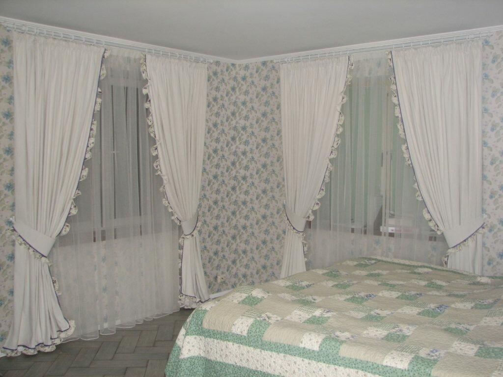 Тюль (гардины) для спальни