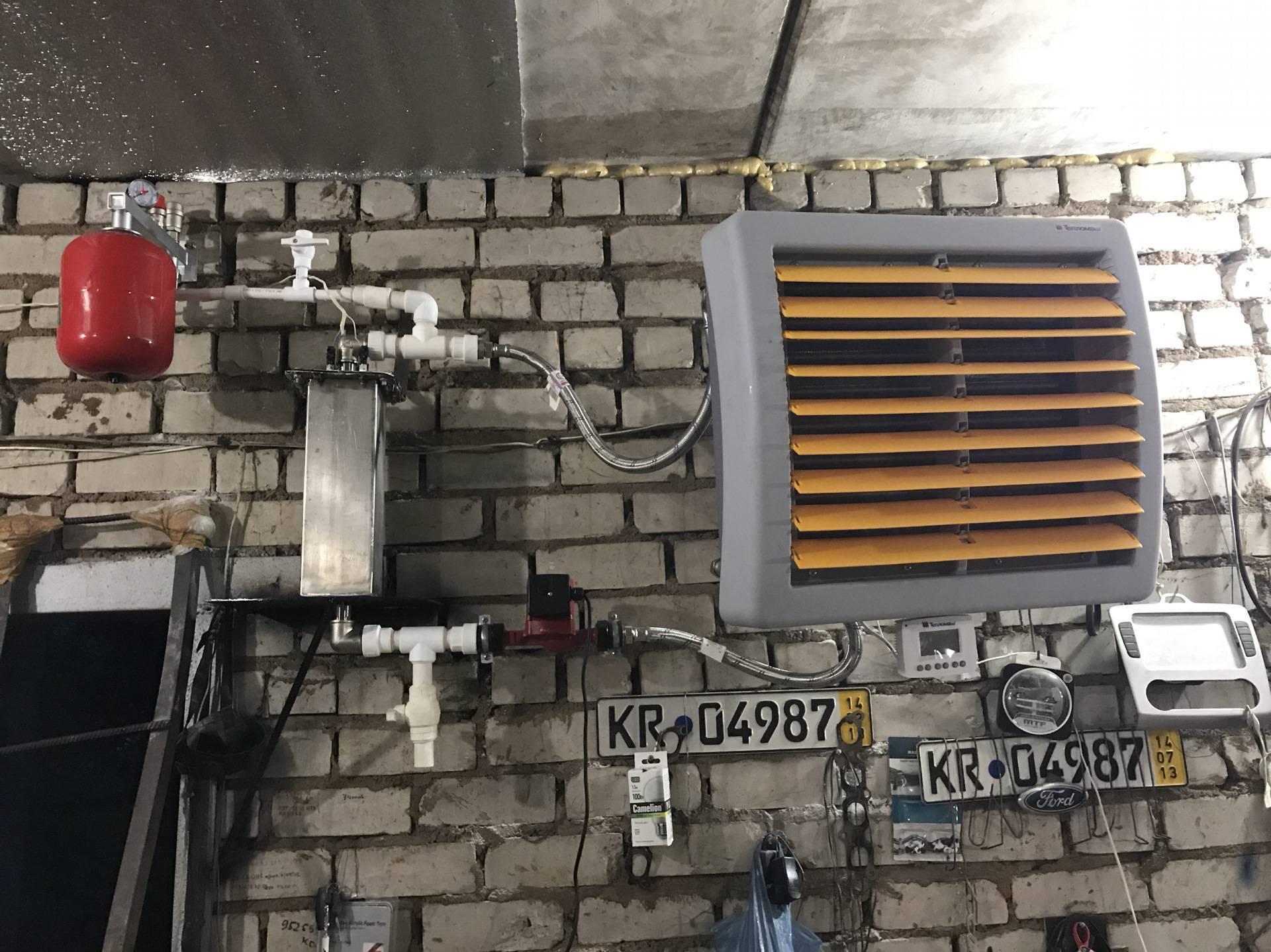 Варианты самостоятельного отопления гаража