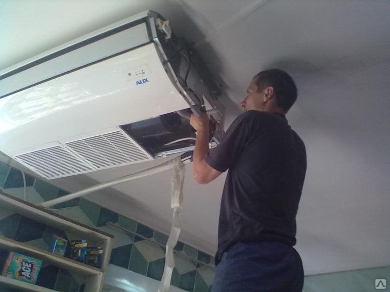 Ремонт бытовых домашних и промышленных кондиционеров и сплит-систем