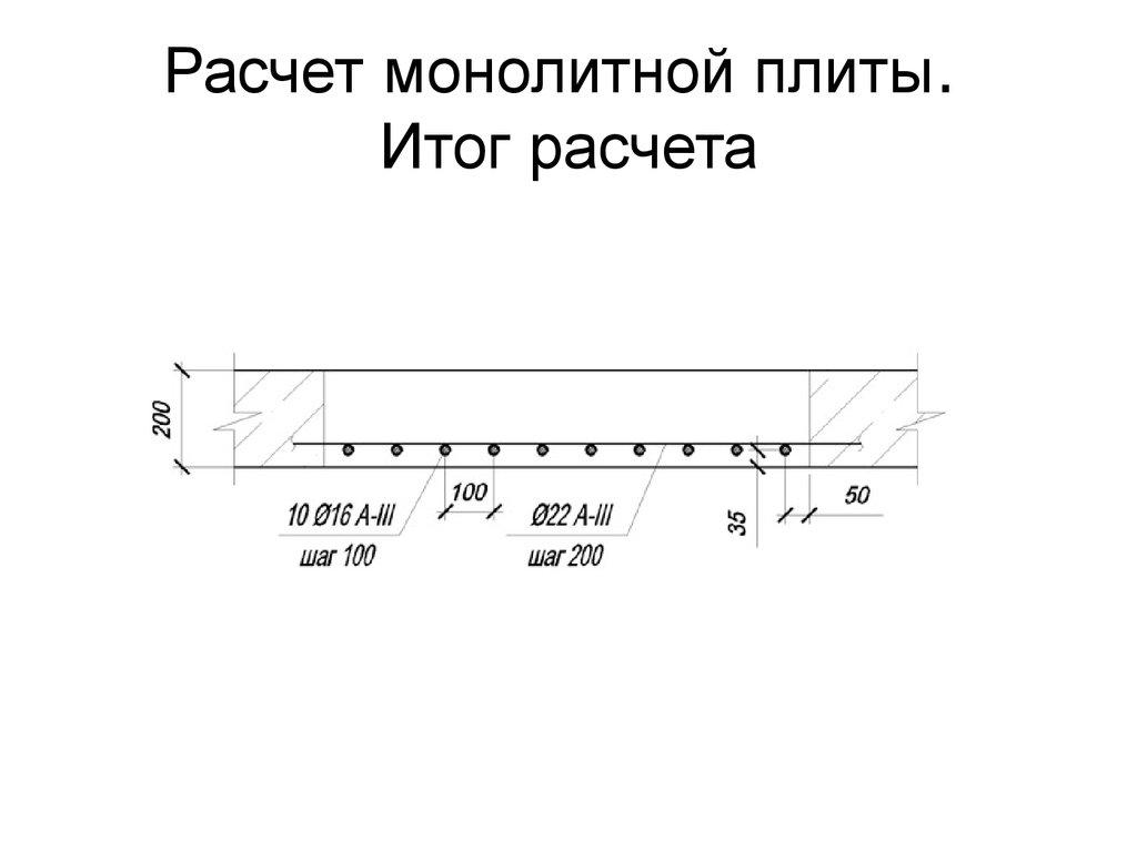 Как рассчитать нагрузку на монолитную плиту перекрытия