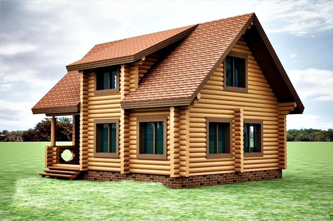 Технология строительства домов из оцилиндрованного бревна