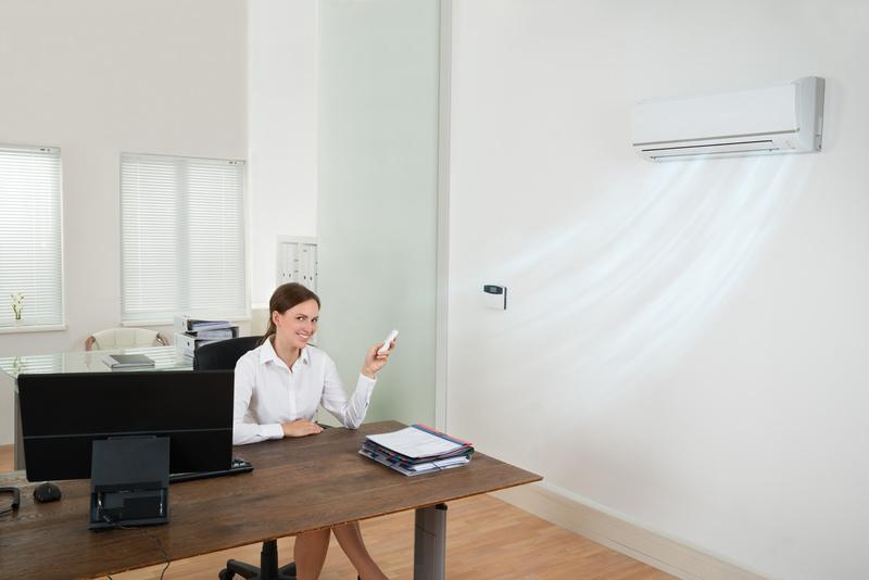 Установка систем кондиционирования в офис