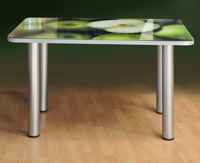 Стол обеденный со стеклом — стильный выбор для кухни