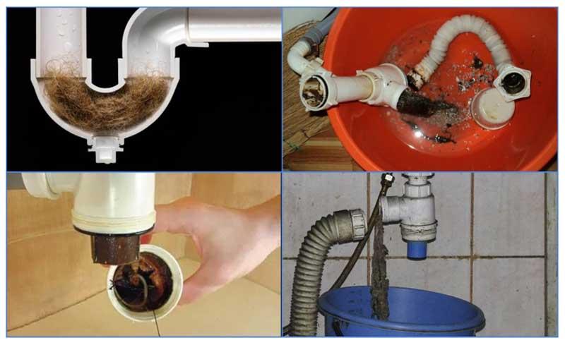 Прочистка сифона своими руками: виды, методы, средства