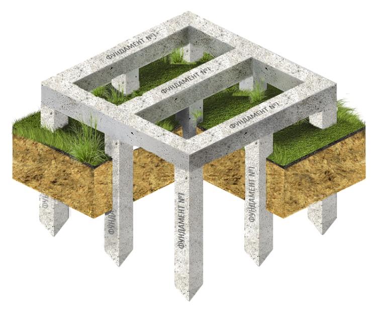 Особенности и применение свайного фундамента с монолитным ростверком