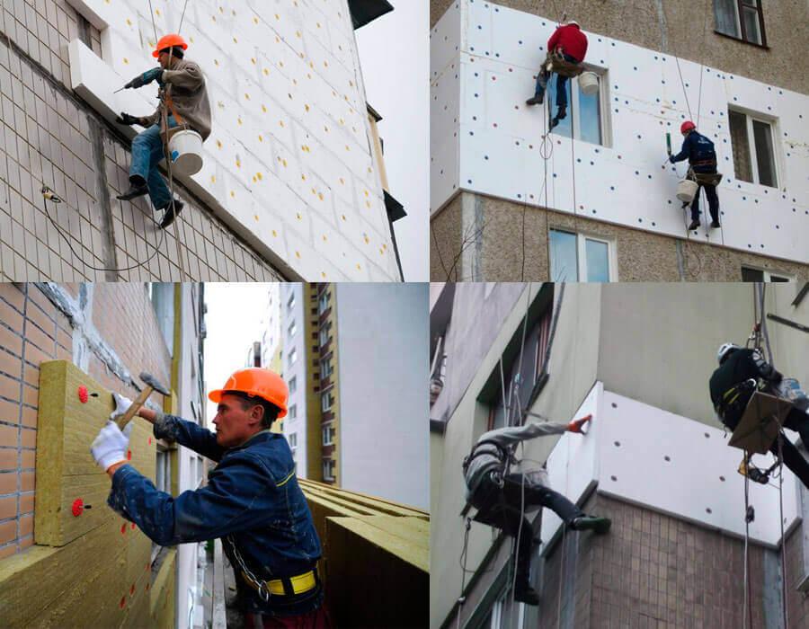 Этапы работ и выбор материалов для ремонта фасадов