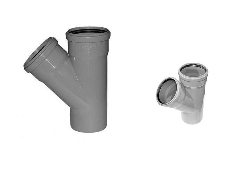 Сантехнические переходники для канализационных труб разного диаметра