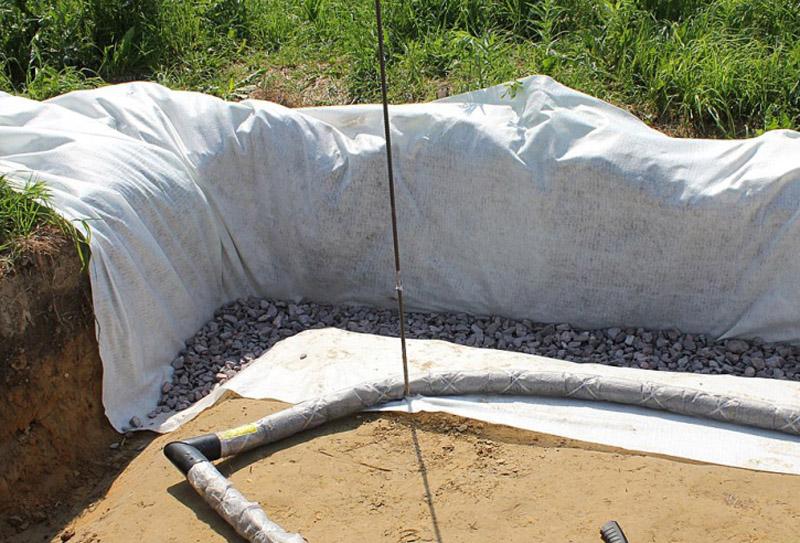Какой геотекстиль использовать под фундамент дома