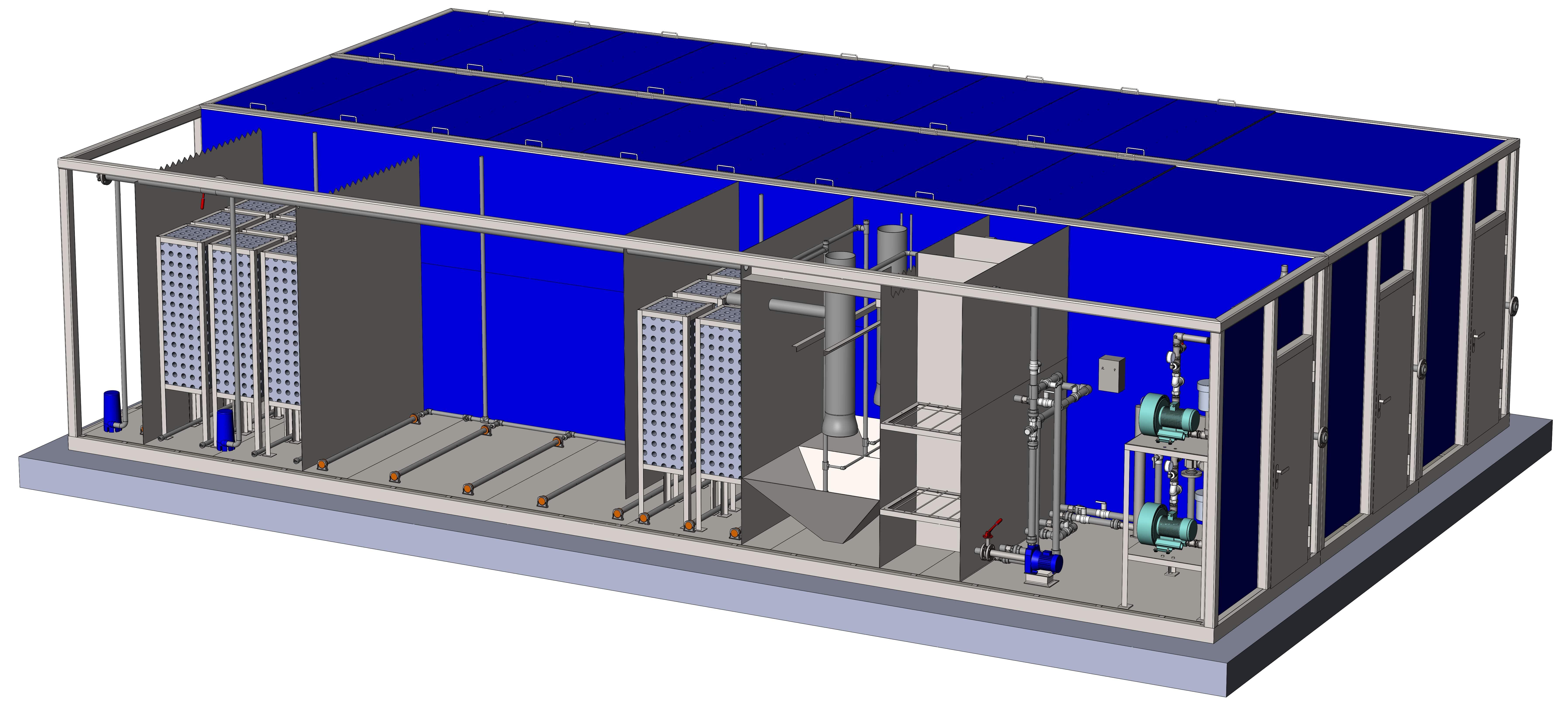 Что представляют собой модульные очистные сооружения канализации