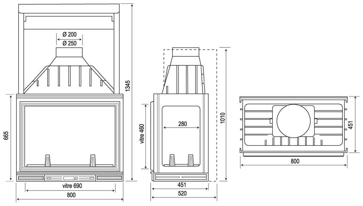 Топка для камина со стеклом: критерии выбора чугунных и стальных топок